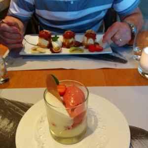 duo dessert